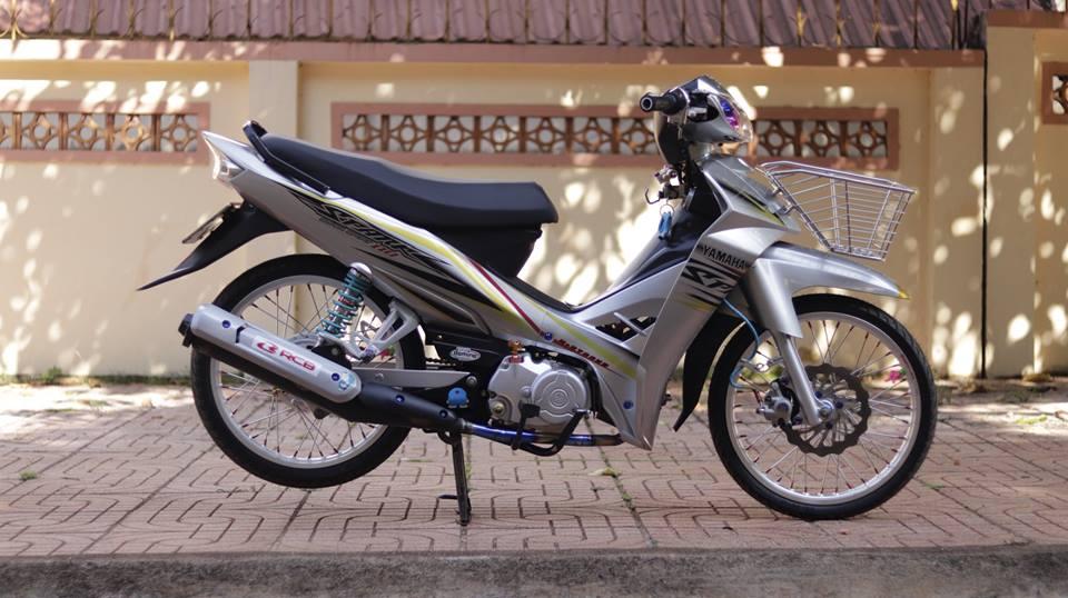 Sirius 50 do kieng hai hoa cua chang Biker Viet - 7