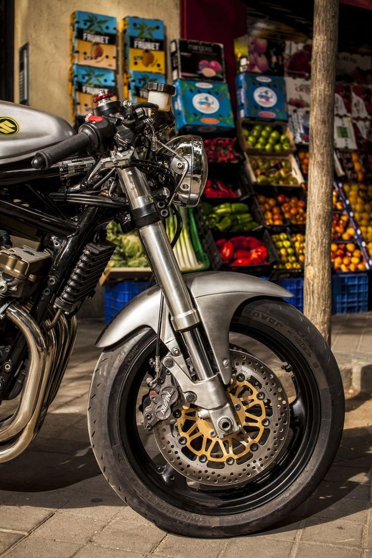 Suzuki Bandit 600S ban do Cafe Racer tu XTR - 5