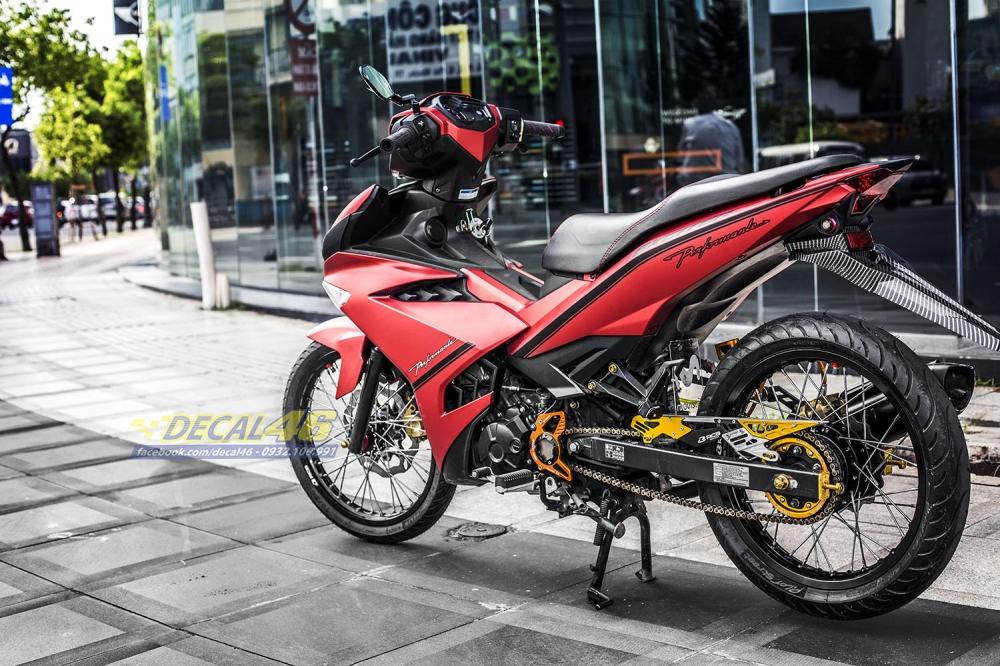 Tong hop tem xe Exciter 150 do den thang 52018 dep do Decal46 thuc hien - 18