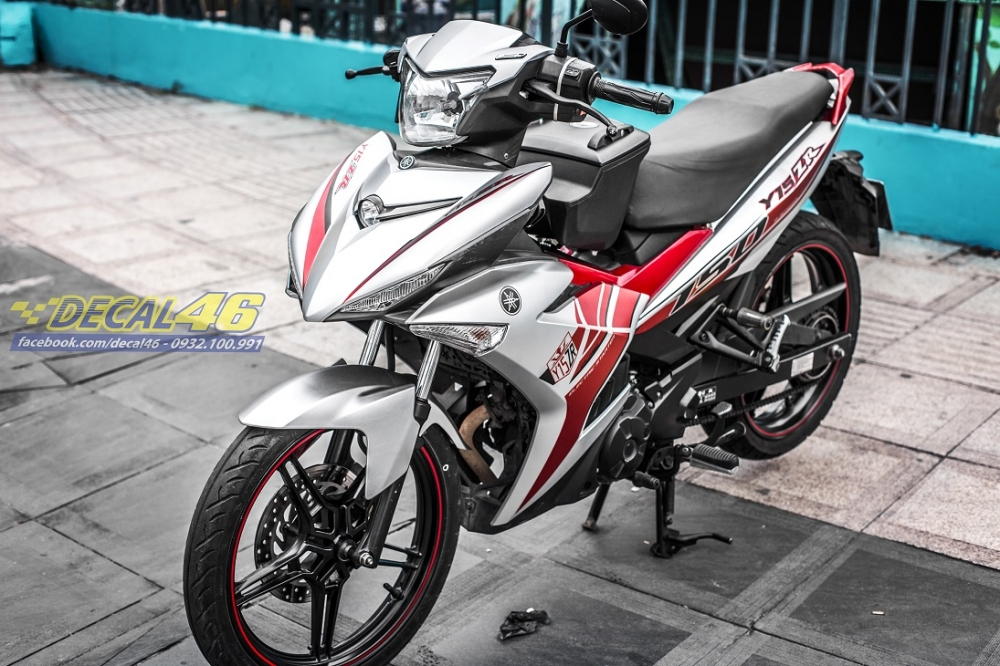 Tong hop tem xe Exciter 150 trang do chat thang 52018 do Decal46 thuc hien - 21
