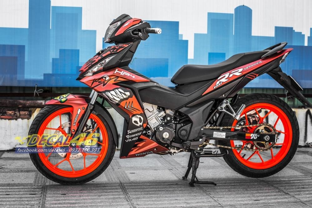Tong hop tem xe Winner 150 cam den thang 52018 dep do Decal46 thuc hien - 9