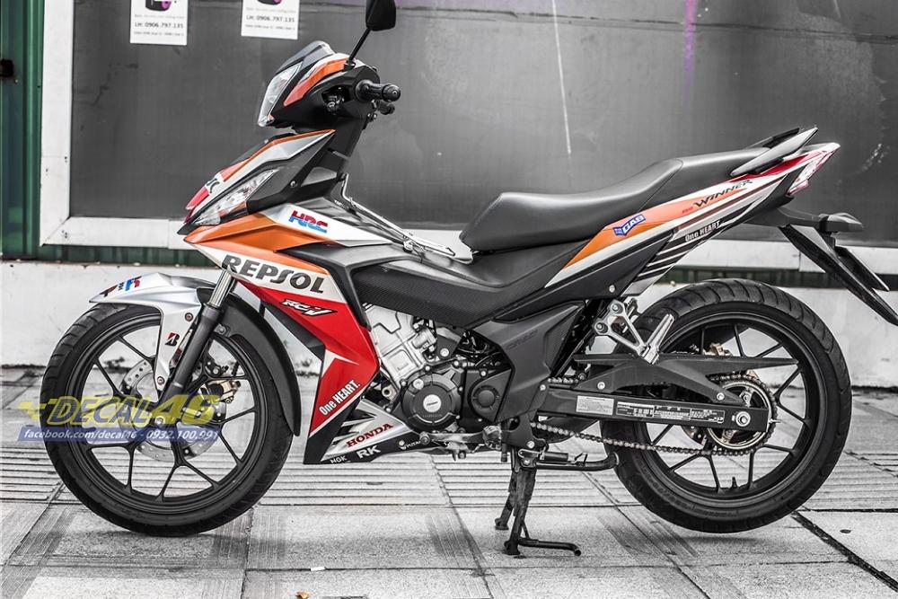 Tong hop tem xe Winner 150 cam den thang 52018 dep do Decal46 thuc hien - 21
