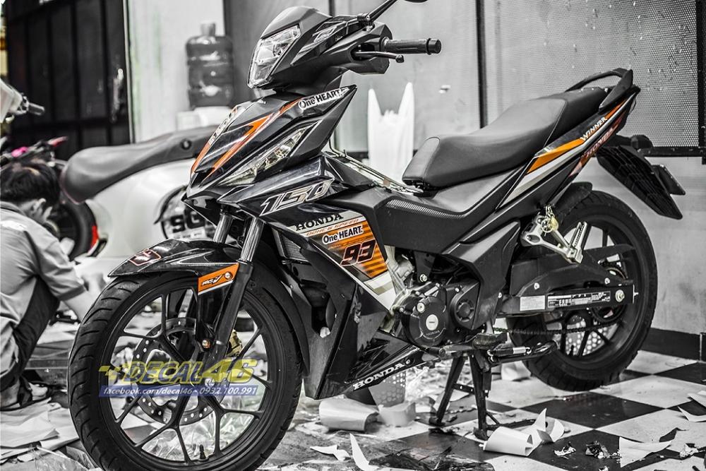 Tong hop tem xe Winner 150 cam den thang 52018 dep do Decal46 thuc hien - 25