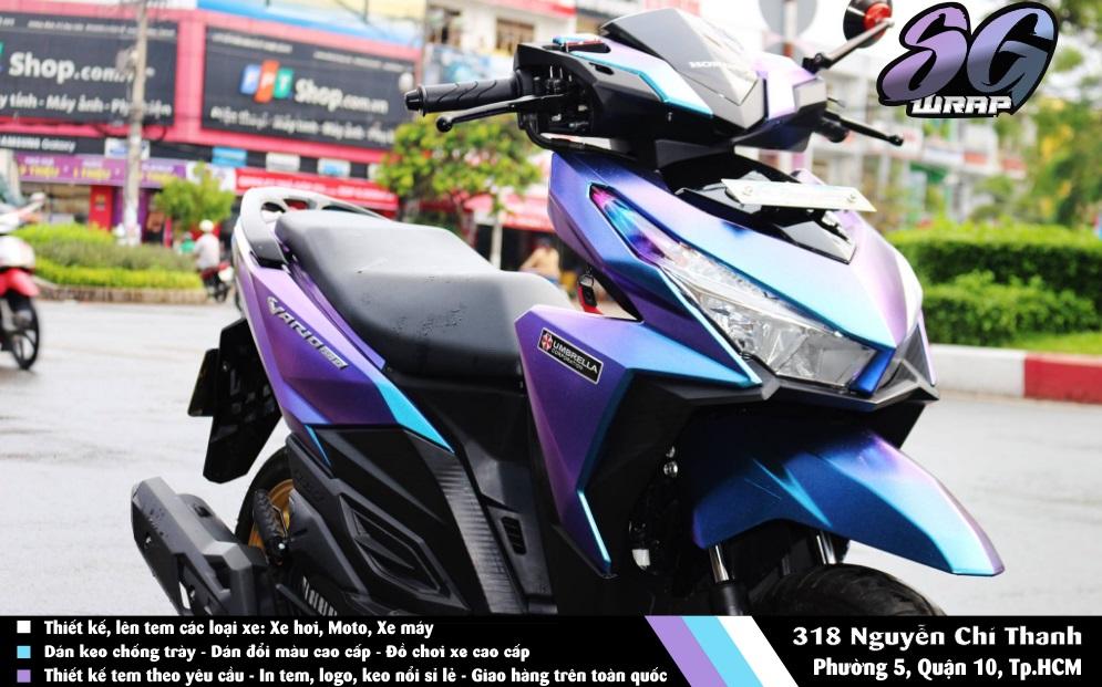 Vario 150 Dan Doi Mau Chuyen Sac Dang Cap Chi Phi Thap Saigonwrapcom - 6