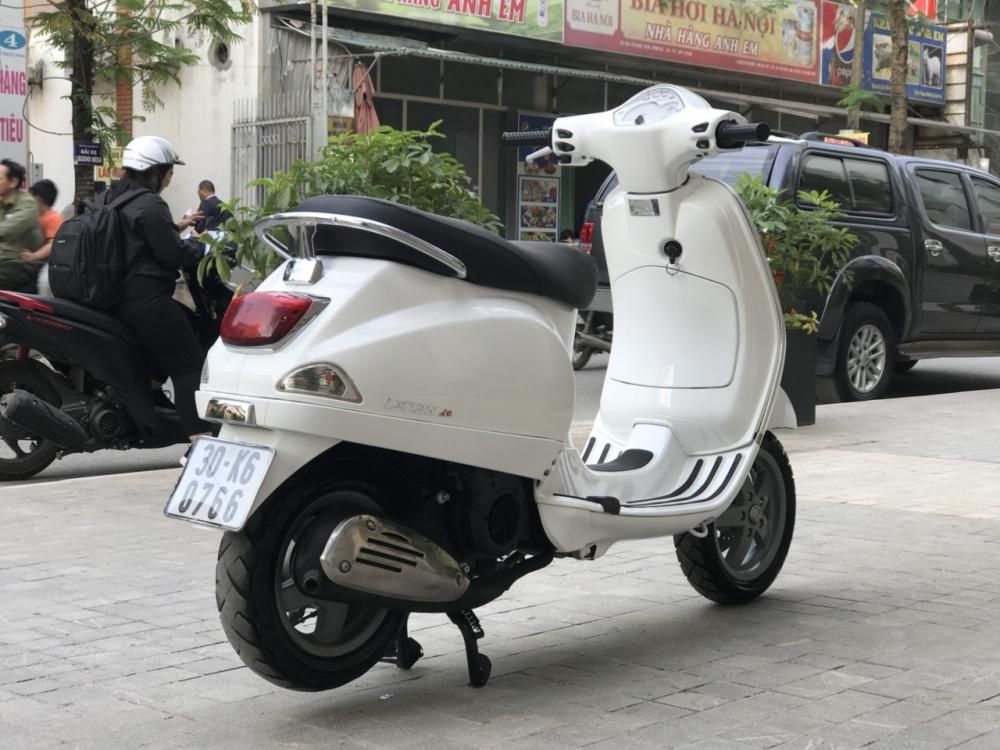 Vespa LX 125 chinh chu mau trang 30K6 0766 - 5