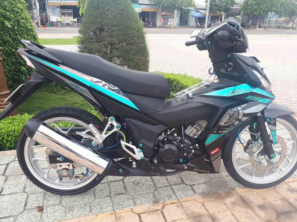 Winner 150 do gian don mang ve dep tao bao cua biker xu dua - 3