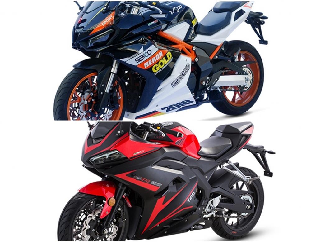 Xuat hien phien ban nhai Honda CB1000RRYamaha XMAX duoi danh thuong hieu TAROMOTO