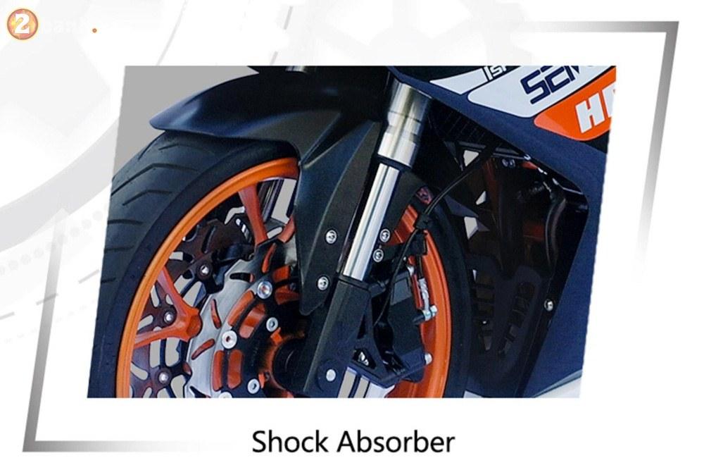 Xuat hien phien ban nhai Honda CB1000RRYamaha XMAX duoi danh thuong hieu TAROMOTO - 3