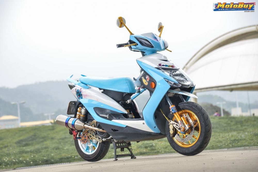 Yamaha Cygnus X125 do dang cap voi tinh cach danh da cua nhan vat Stick - 3