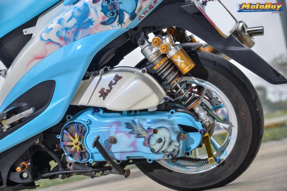 Yamaha Cygnus X125 do dang cap voi tinh cach danh da cua nhan vat Stick - 7