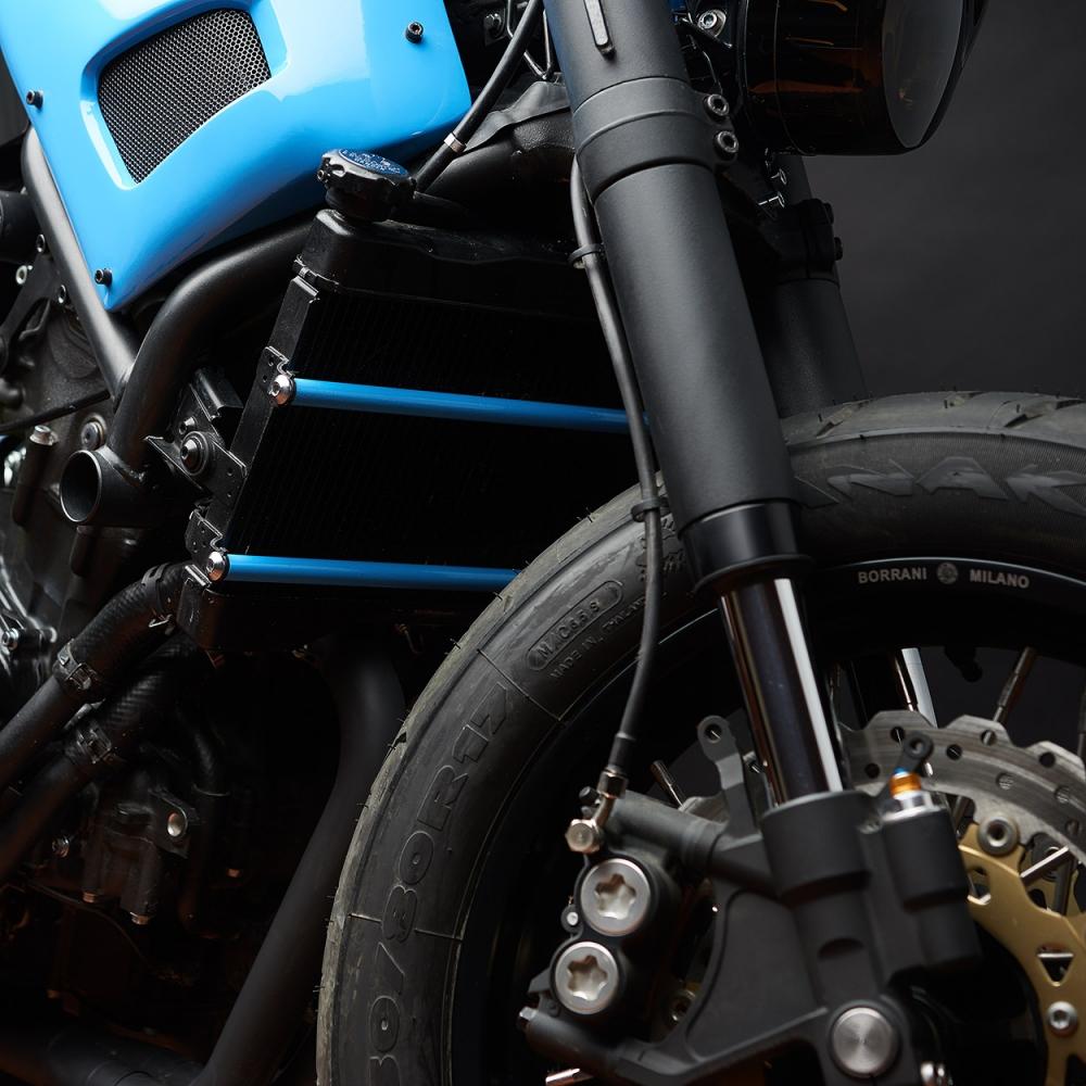 Yamaha XSR700 ban do Tracker day khac biet - 7