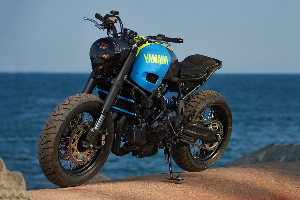 Yamaha XSR700 ban do Tracker day khac biet - 11