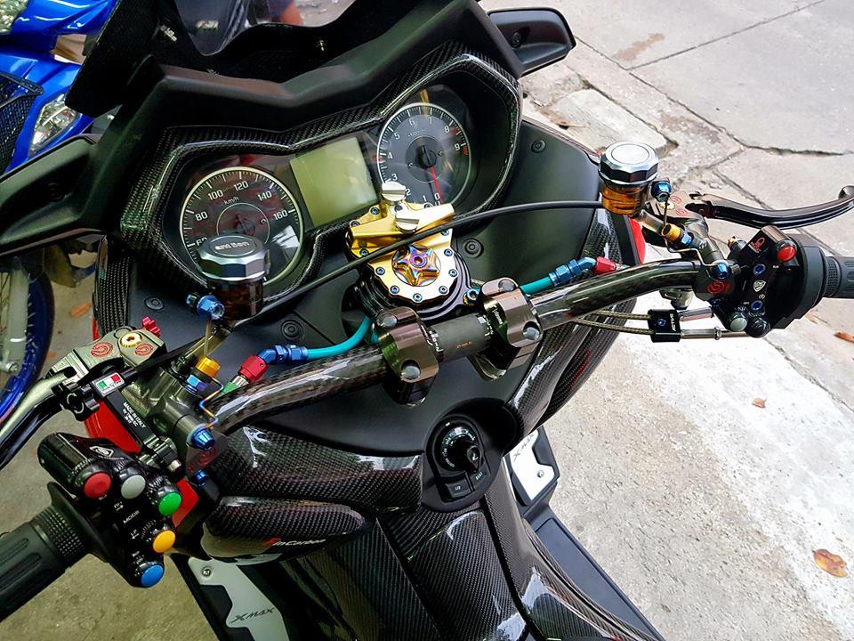 Yamaha XMax 300 dam chat thai qua cong nghe do choi cao cap - 3