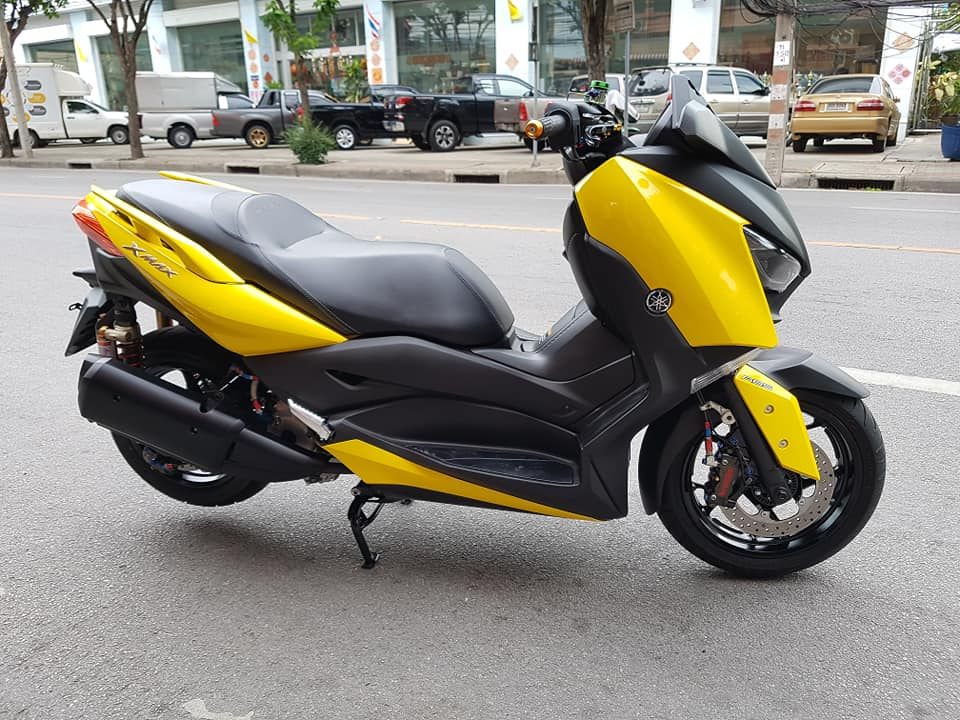 Yamaha XMax 300 do full option dep ngat ngay tren dat Thai - 3