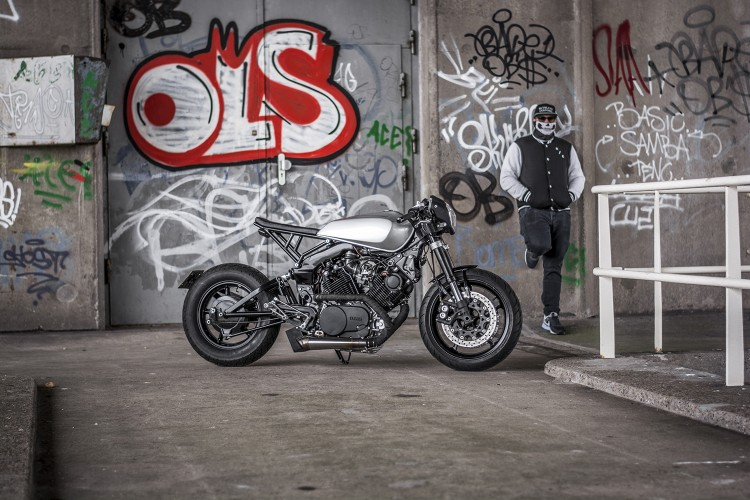 Yamaha XV920 ban tuy chinh tu Ruthless Customz - 3