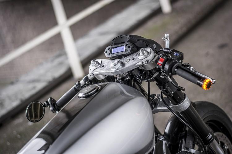 Yamaha XV920 ban tuy chinh tu Ruthless Customz - 5