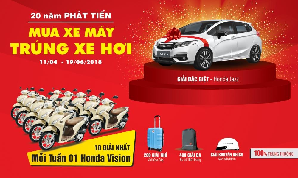 20 Nam Phat Tien Mua Xe May Trung Xe Hoi - 2