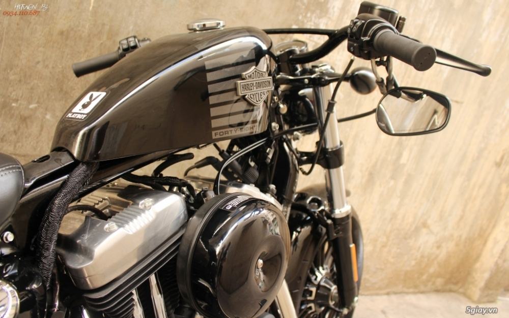 ___ Can Ban ___HARLEY DAVIDSON Fortyeight 1200cc ABS 2016___ - 5