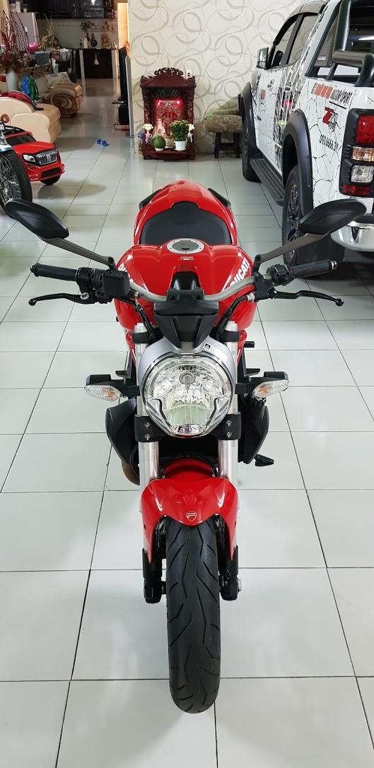 Ban Ducati Monster 821 ABS72017Chinh HangSaigon So Dep