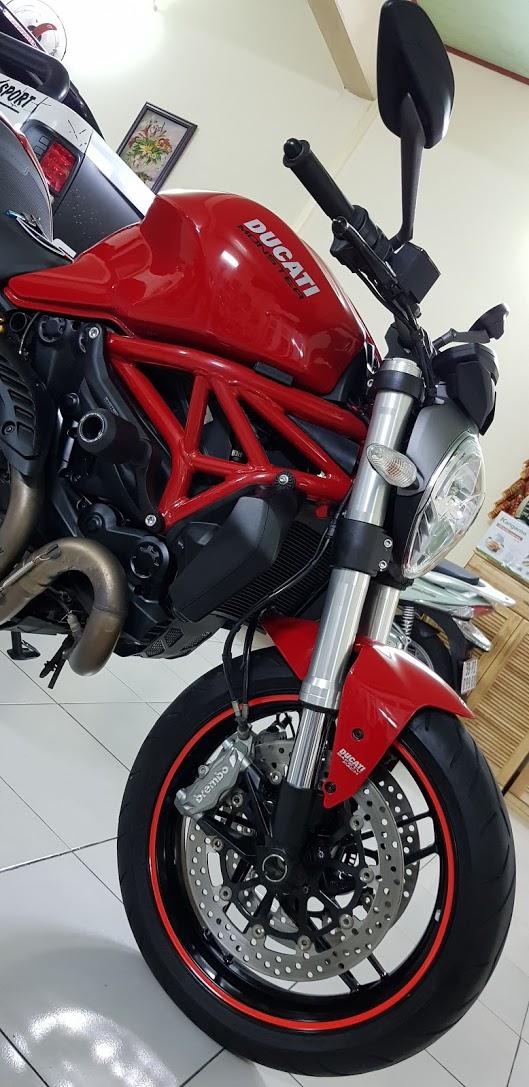 Ban Ducati Monster 821 ABS72017Chinh HangSaigon So Dep - 3