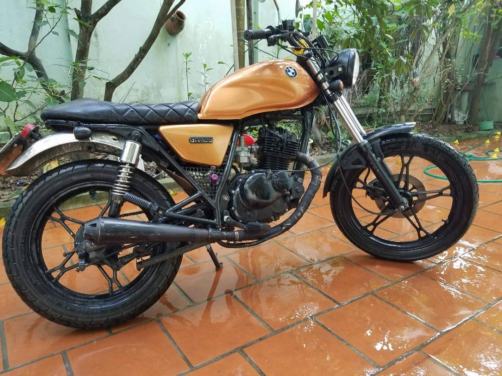 Ban Moto Suzuki Cafe Racer GN125 - 3