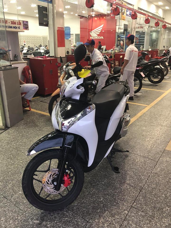 Ban SH MODE 125_ 2018 Den bac _ chay 34k Km - 3