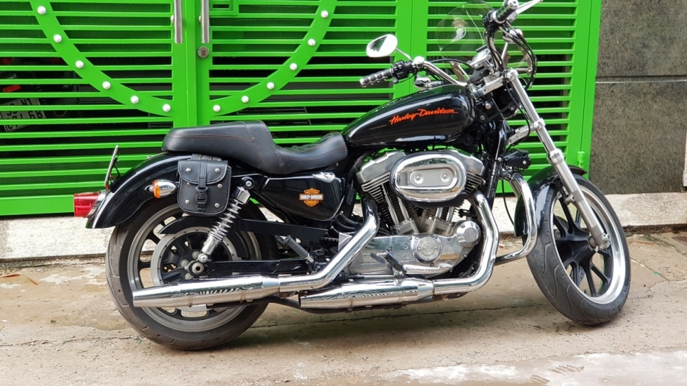 Ban xe Harley 883 supper low - 6
