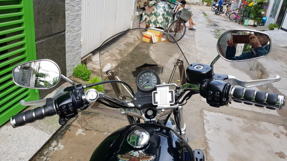 Ban xe Harley 883 supper low - 7