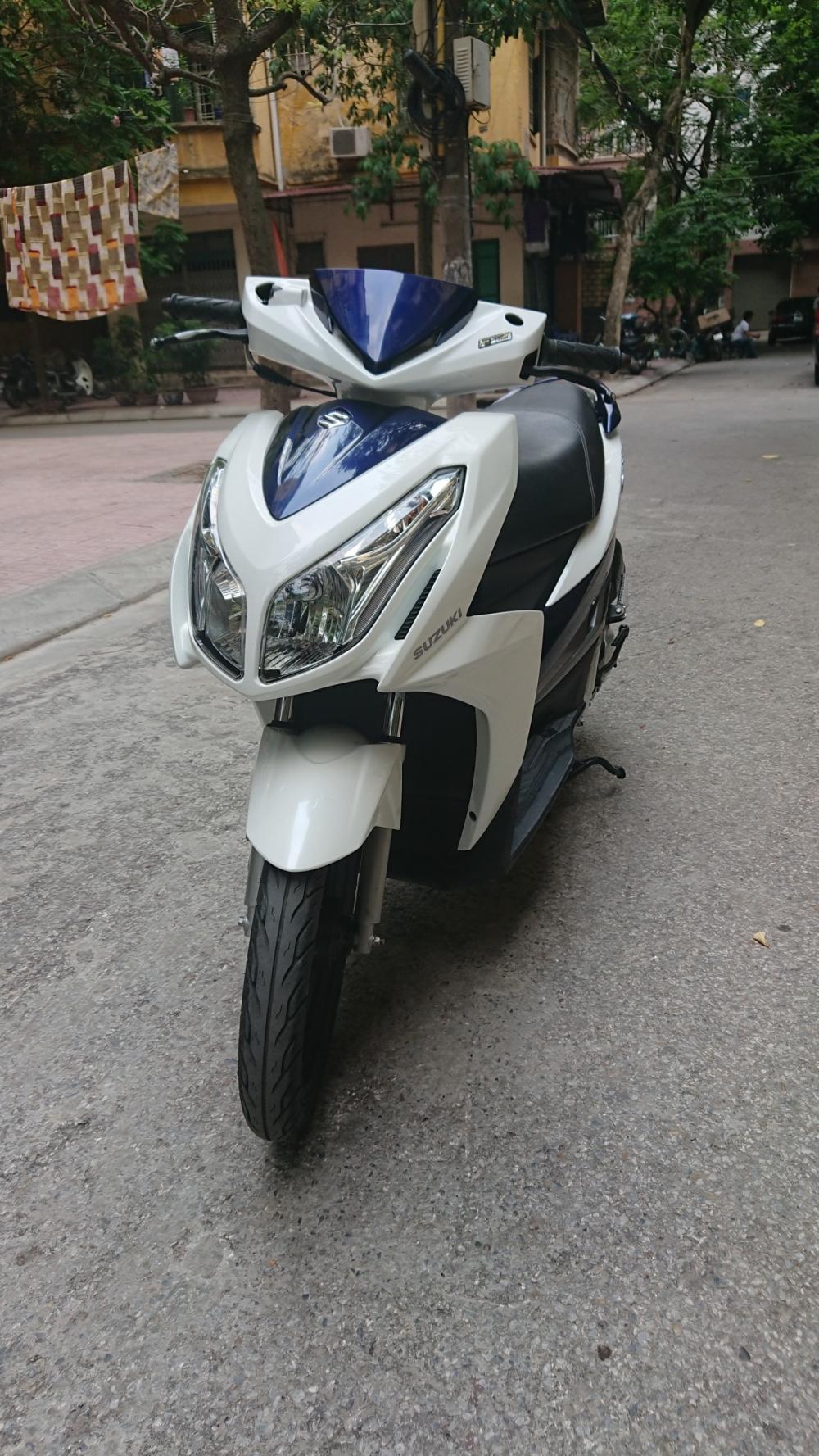 ban xe Suzuki Impulse xanh trang 2015 it dung chinh chu bien HN - 3