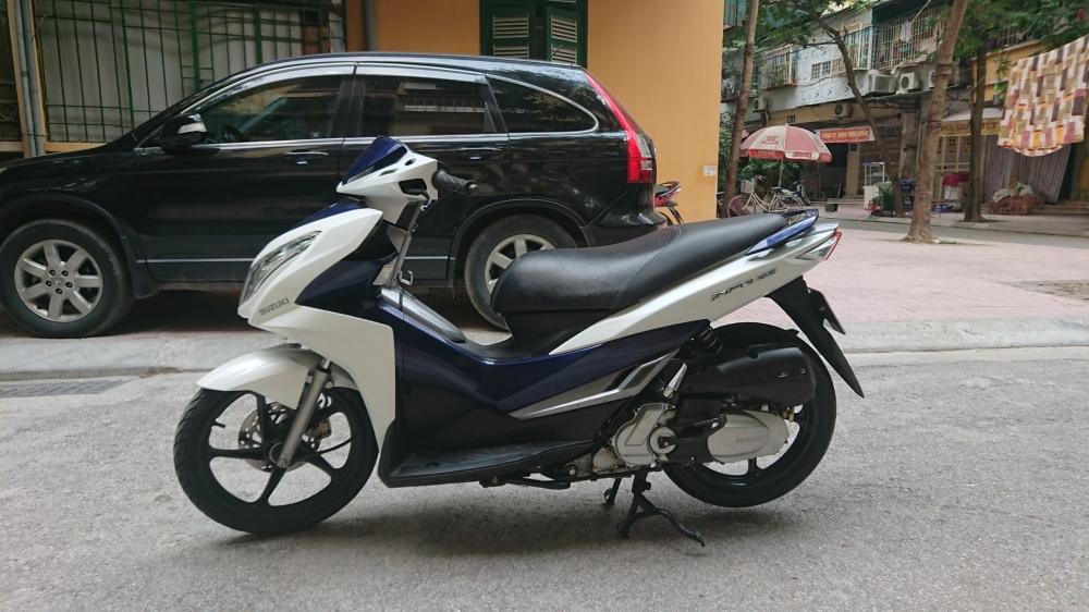 ban xe Suzuki Impulse xanh trang 2015 it dung chinh chu bien HN