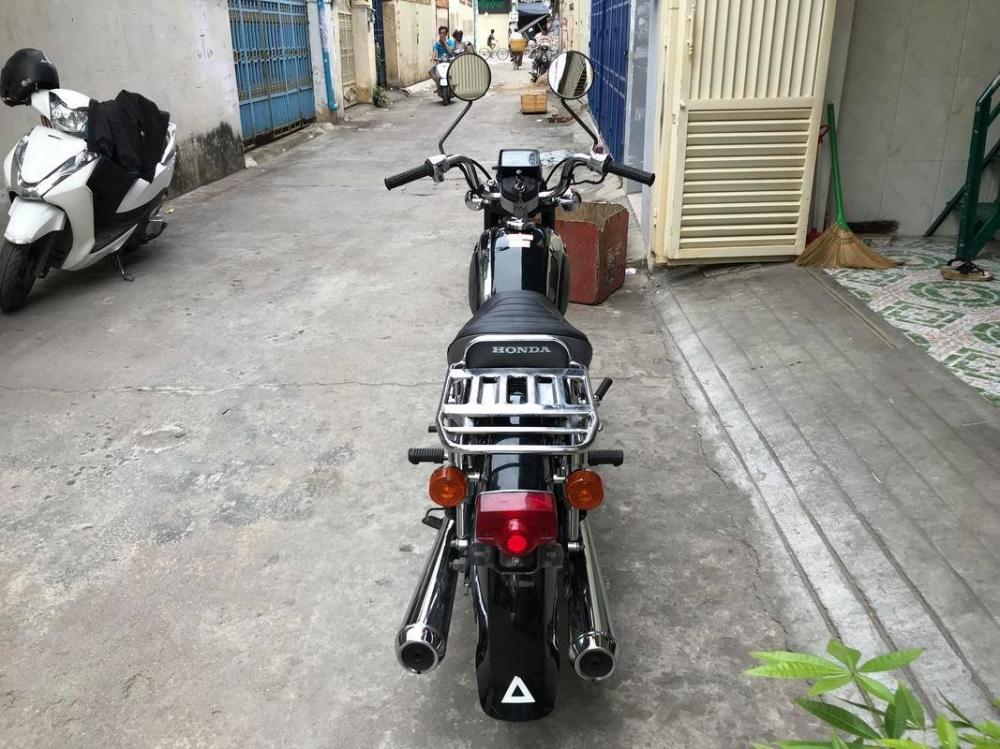 Can ban HONDA CD 125T Doi 2002 Mau Den Inox - 3