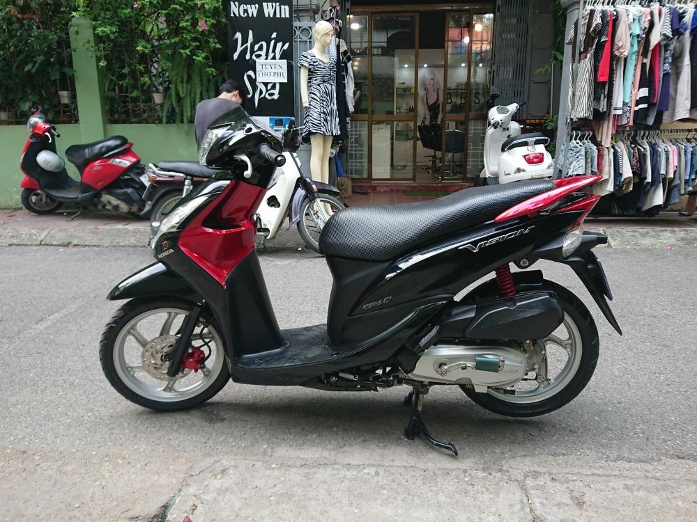 Can ban Honda Vision fi 2013 den do chinh chu su dung con rat moi 23tr
