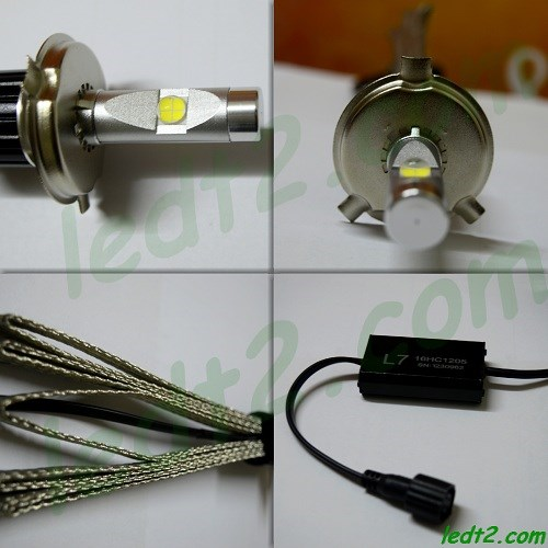 Den led XHP70 L7 900K bong - 2