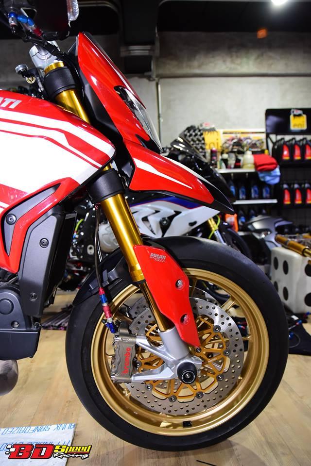 Ducati Hypermotard 821 ban do day hieu nang den tu Bd speed racing - 4