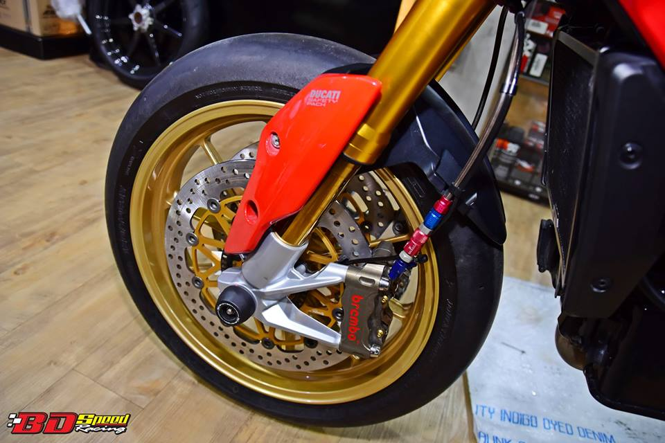 Ducati Hypermotard 821 ban do day hieu nang den tu Bd speed racing - 6