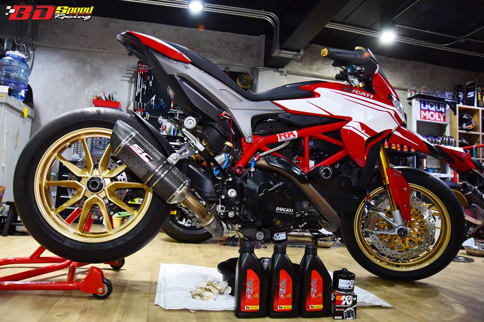 Ducati Hypermotard 821 ban do day hieu nang den tu Bd speed racing - 10