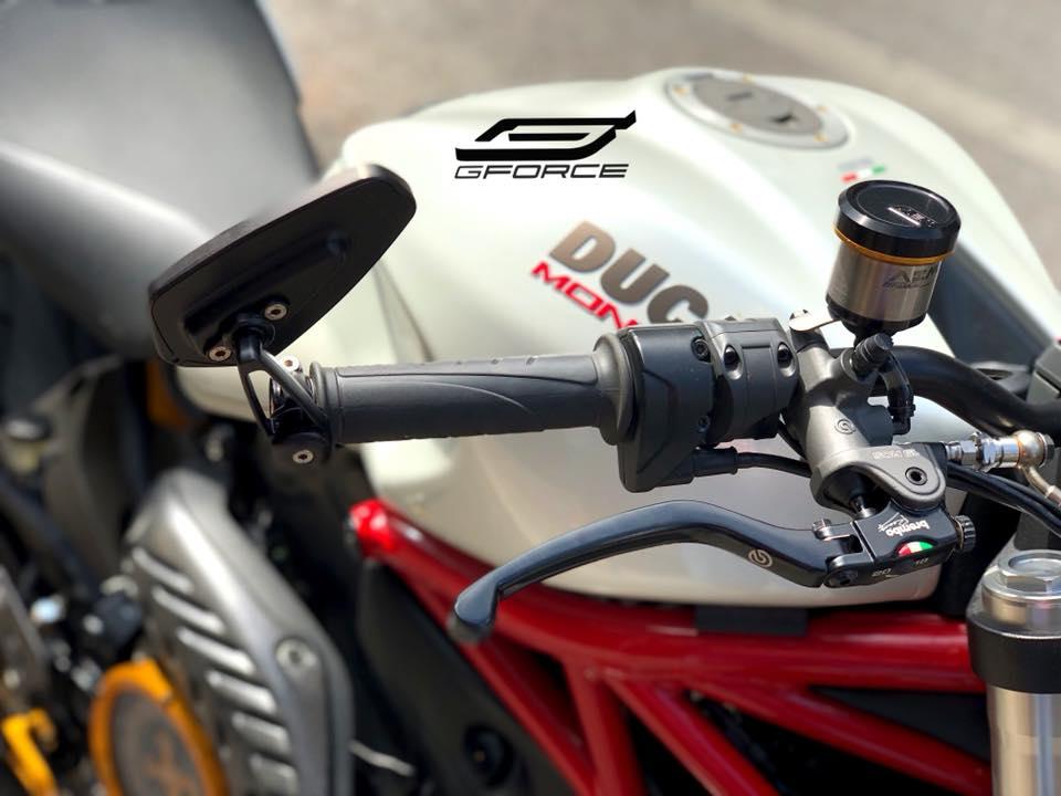Ducati Monster 821 Ga quai vat trung nien dep long lon sau khi nang cap - 3