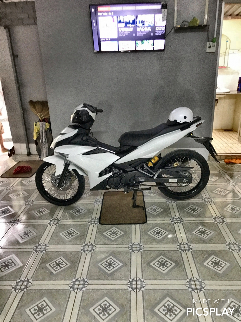 Exciter 150 bach ma cua biker Tien Giang - 3