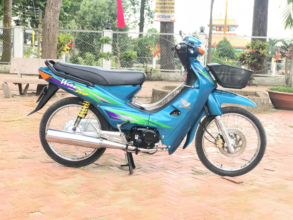 Wave 110 Thailan Xanh Ngoc - 2