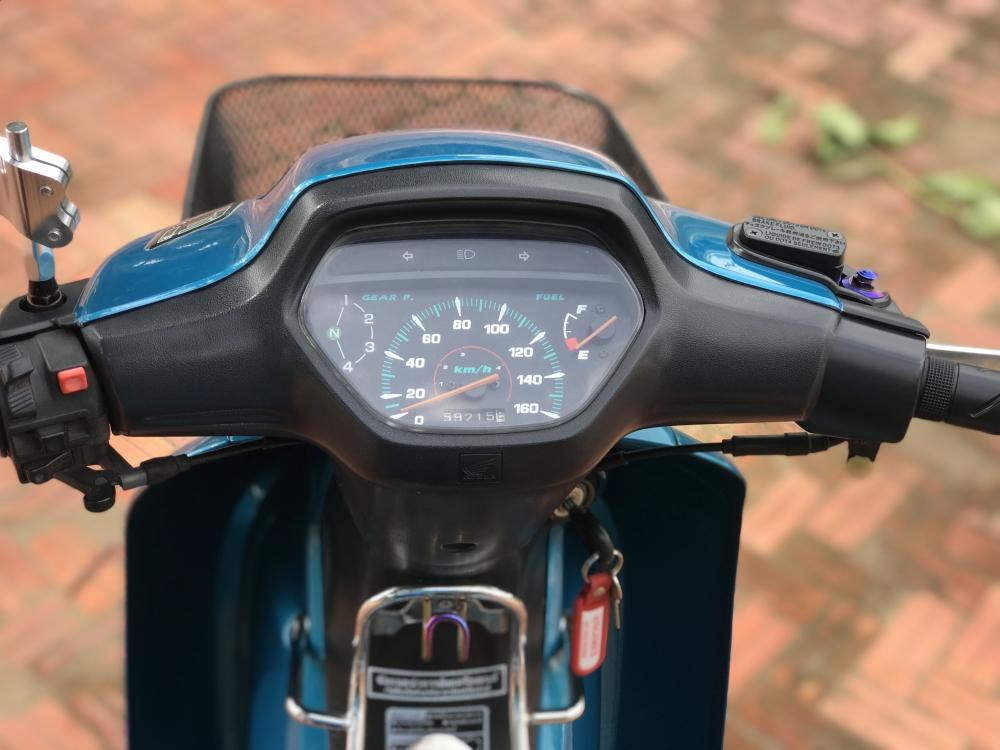 Wave 110 Thailan Xanh Ngoc - 8