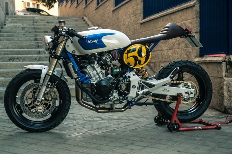 Honda CB600 ban do Cafe Racer den tu XTR Pepo - 3