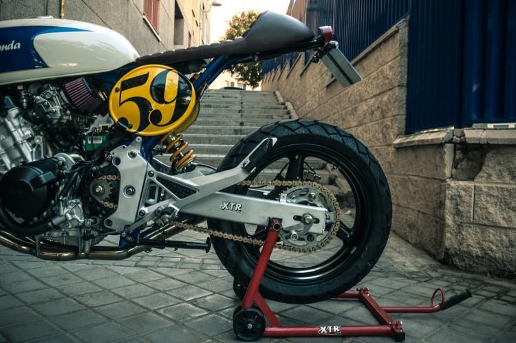 Honda CB600 ban do Cafe Racer den tu XTR Pepo - 7
