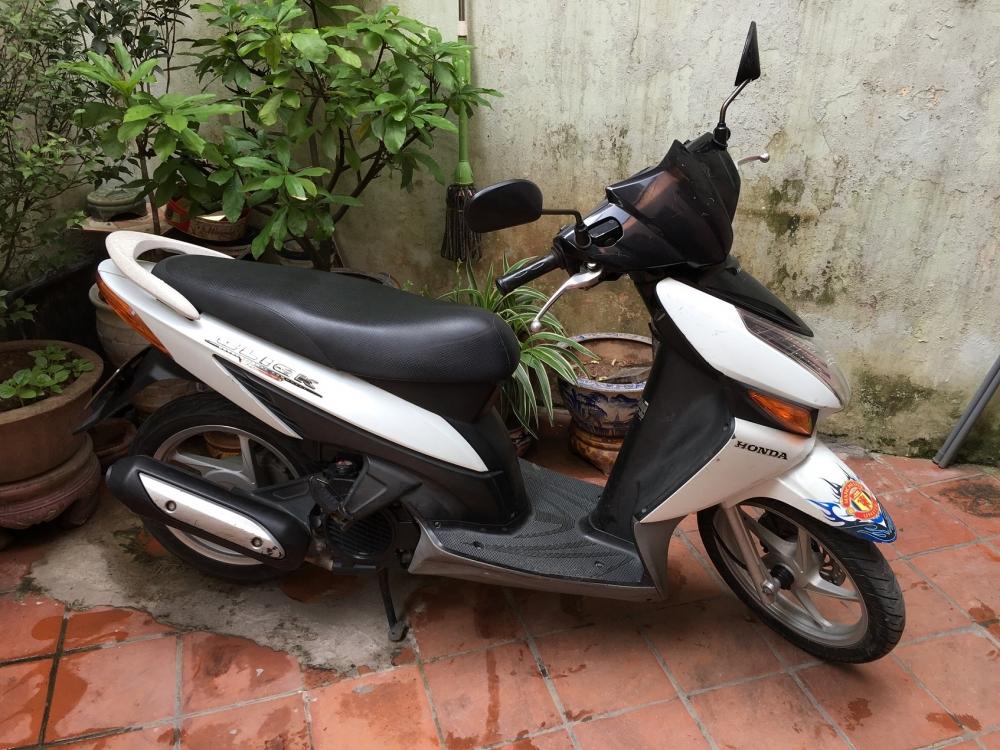 Honda Click Bien 29Y4534 Mau trang zin nguyen ban - 5