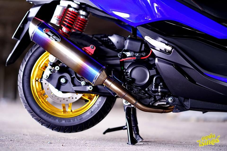 Honda Forza 300 ban do tuoi khong can tuoi den tu Thai Lan - 16
