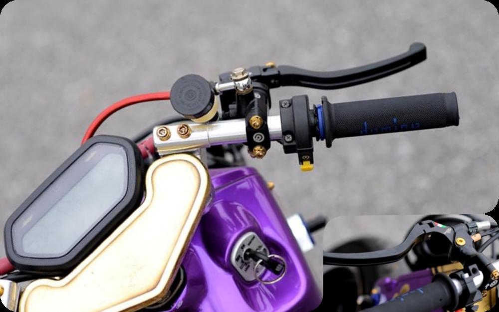 Honda Zoomer 50cc do doc dao voi phong cach Ruckus tren dat Viet - 5