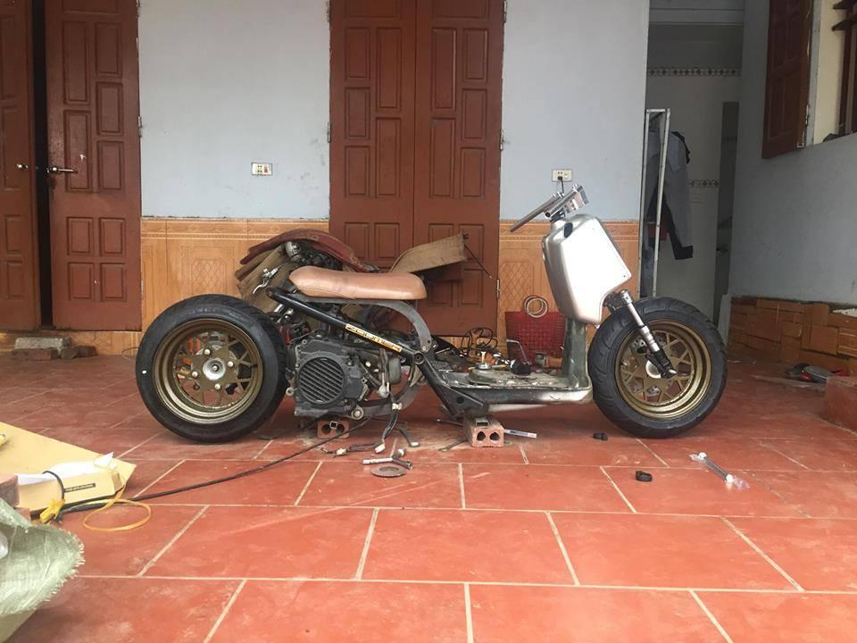 Honda Zoomer 50cc do doc dao voi phong cach Ruckus tren dat Viet - 10