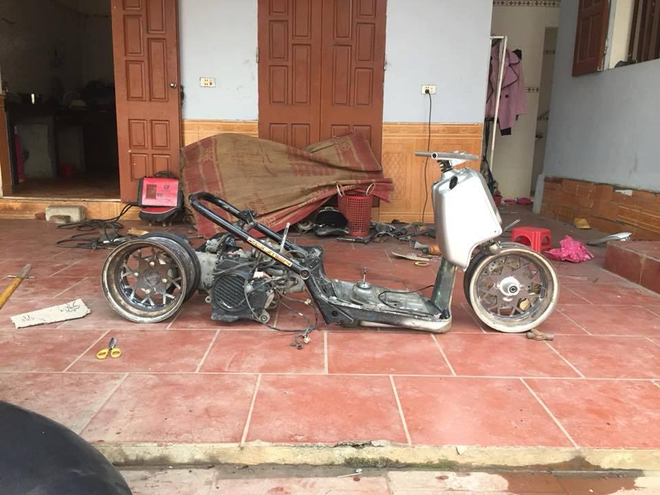 Honda Zoomer 50cc do doc dao voi phong cach Ruckus tren dat Viet - 12