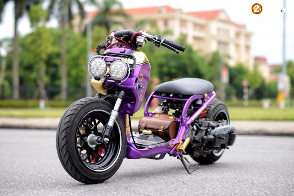 Honda Zoomer 50cc do doc dao voi phong cach Ruckus tren dat Viet - 15