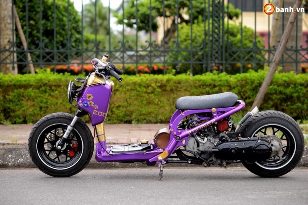 Honda Zoomer 50cc do doc dao voi phong cach Ruckus tren dat Viet - 16