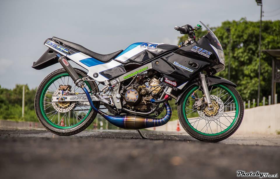 Kawasaki Kips 150 do mang ve dep kieu sa day dang cap tren dat Thai - 5